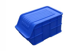 X283号 塑料周转箱(可配箱盖)