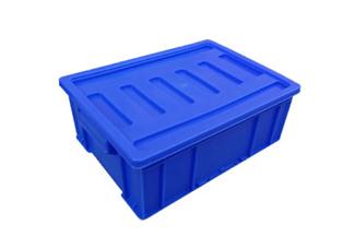 X47塑料周转箱(箱盖可选)