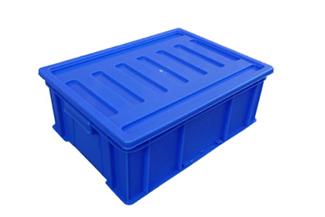 X48塑料周转箱(箱盖可选)