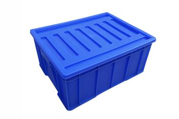 X53-1/2塑料周转箱(箱盖可选)