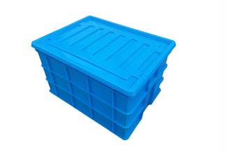 X129塑料周转箱(可配箱盖)