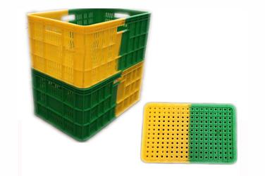 K203-1双色塑料筐