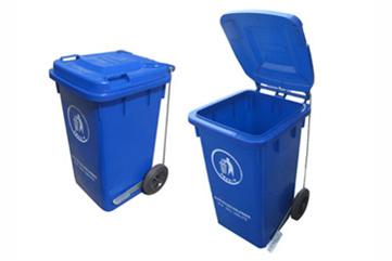 100L脚踏式垃圾桶