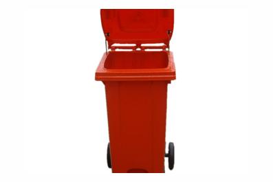 120L脚踏式塑料垃圾桶